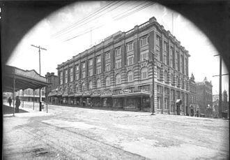 Archibald Clark (politician) - Archibald Clark and Sons Ltd in Wellesley Street West in 1912