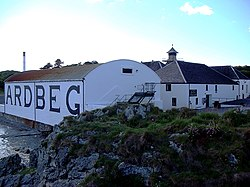 Ardbeg whiskybrennerei islay schottland 16.06.2007.JPG