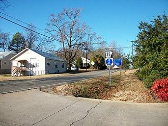 Arkansas Highway 35 - AR 35 northbound in Sheridan.