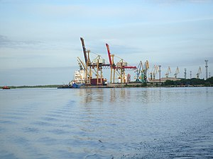 Port of Arkhangelsk - View of the port