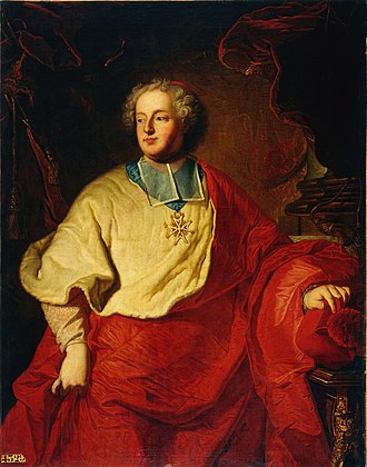 Armand Gaston Maximilien de Rohan - Armand Gaston Maximilien de Rohan, by Hyacinthe Rigaud.