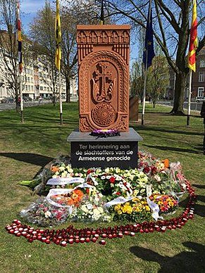 Armenian Genocide Memorial in Mechelen.jpg
