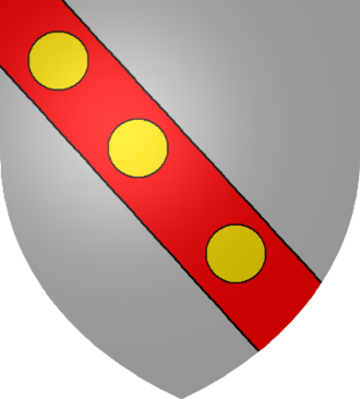 Counts and dukes of Aumale - Coat of arms of the Counts of Aumale, adopted late 12th century, at start of age of heraldry