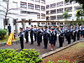 Army Academy Military Band Exercise in Education Building Court 20130302c.JPG