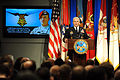 Army Chief of Staff Gen. George W. Casey Jr. speaking about Salvatore Giunta.jpg