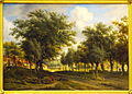 Arnoldus Johannes Eymer (1803-1863), Landschap bij Heemstede, Olieverf op doek, foto-2.JPG
