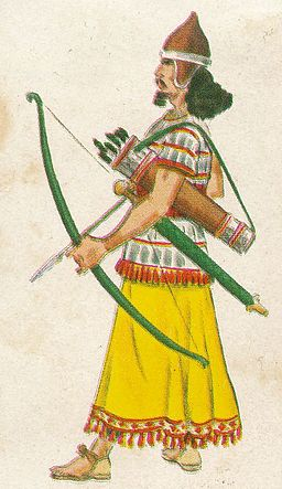 Arquero asirio