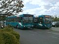 Arriva Guildford & West Surrey 3187 P187 LKJ and 4022 GN58 BUO.JPG