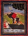 Art Detail, Chauvelot - L'Inde mystérieuse, ses rajahs, ses brahmes, ses fakirs, 1920 (page 8 crop).jpg