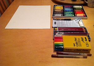 Art therapy - Art media commonly used in art therapy