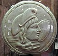 Arte romana, oscillum a disco con attys e mostro marino, 01.JPG