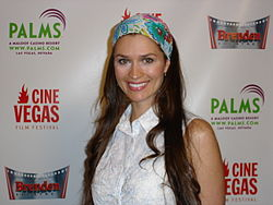 Ashley Lyn Cafagna-Tesoro al CineVegas Film Festival a Las Vegas nel 2007