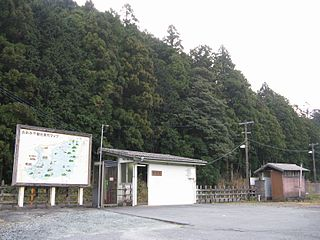 Aso Station (Mie) Railway station in Taiki, Mie Prefecture, Japan