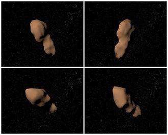 4179 Toutatis - Image: Asteroid 4179 Toutatis.faces model