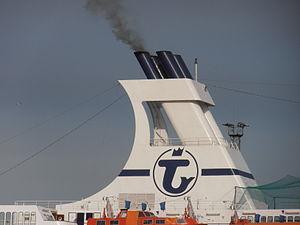 Funnel (ship) - Image: Astor Funnel Tallinn 31 August 2012
