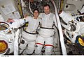 Astronauts Sunita L. Williams and Michael A. Lopez-Alegria.jpg