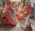 At a Party by Abram Arkhipov (1914, GTG).jpg