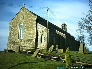 Auchtertool village in Fife, Scotland, UK
