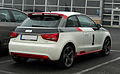 Audi A1 1.4 TFSI Ambition competition kit legends – Heckansicht, 27. April 2011, Velbert.jpg