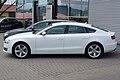 Audi A5 Sportback 2.0 TDI Ibisweiß Seite.JPG