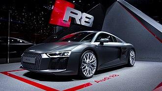 Audi R8 - Image: Audi R8 2015 (16649078228)