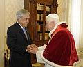 Audiencia privada con Su Santidad, el papa Benedicto XVI (5494391552).jpg