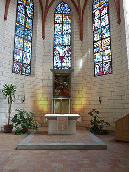Augsburg St. Jakob Altar