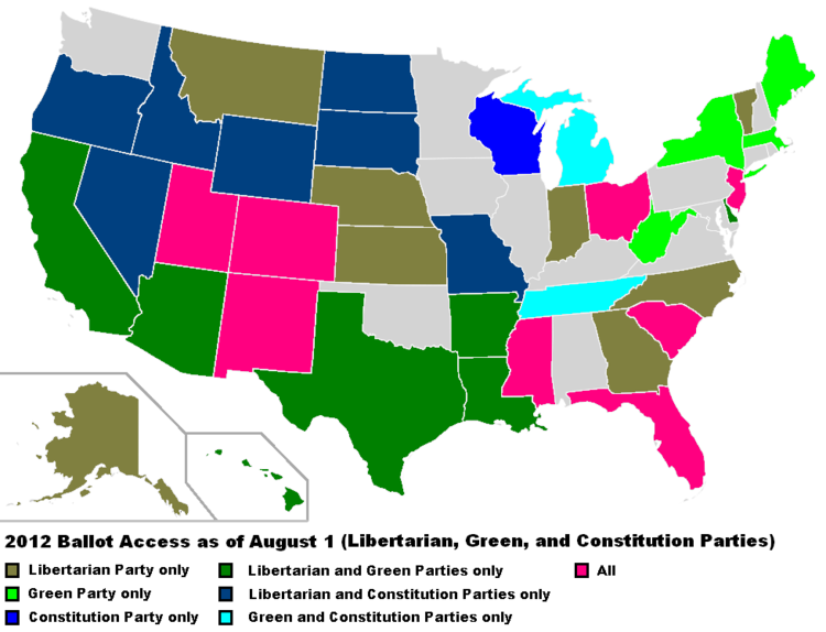 August 1, 2012 LP, GP, CP Ballot access.png