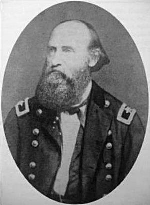 August Willich - Brigadier General August Willich, ca. 1863