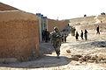 Australian Army Pvt. Andrew Roberts, front, patrols in Tarin Kowt, Uruzgan province, Afghanistan, July 26, 2013 130726-Z-FS372-391.jpg