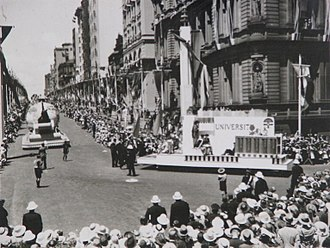 Australia Day - Sesquicentenary parade in Sydney, 26 January 1938