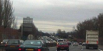A3 autoroute - The A3 near Sortie 4