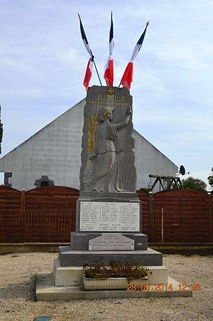 Autreville, Aisne - Autreville War Memorial