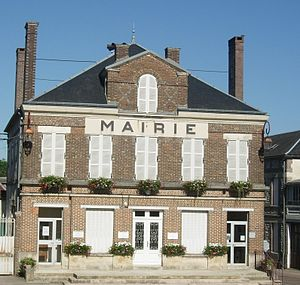 Auxon, Aube - The Town Hall