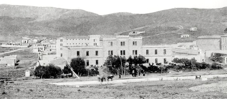 A stone walled prison