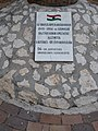 Az oroszlányi rabtáborban szenvedők emlékműve, tábla, 2018 Oroszlány.jpg