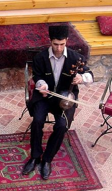 Azerbaijani playing kamancha.jpg