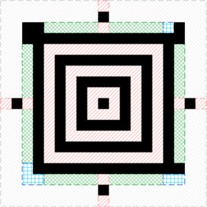Aztec Code - Image: Aztec code full core
