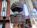 Bützow Stiftskirche Kanzel 1 2013-09-06.jpg