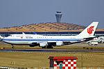 B-2443 - Air China - Boeing 747-4J6 - PEK (12905123784).jpg