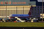 B-2498 - Shanghai Airlines - Boeing 767-36D - TAO (12385129365).jpg