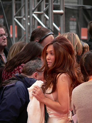 Myleene Klass - Myleene Klass at the BAFTA awards during 2007.