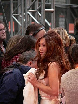 Myleene Klass - Myleene Klass at the BAFTA awards during 2007.
