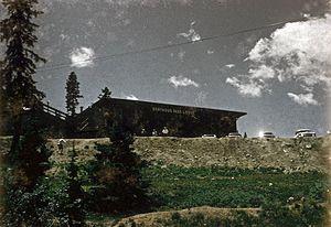 Berthoud Pass - Berthoud Pass Lodge July 1963