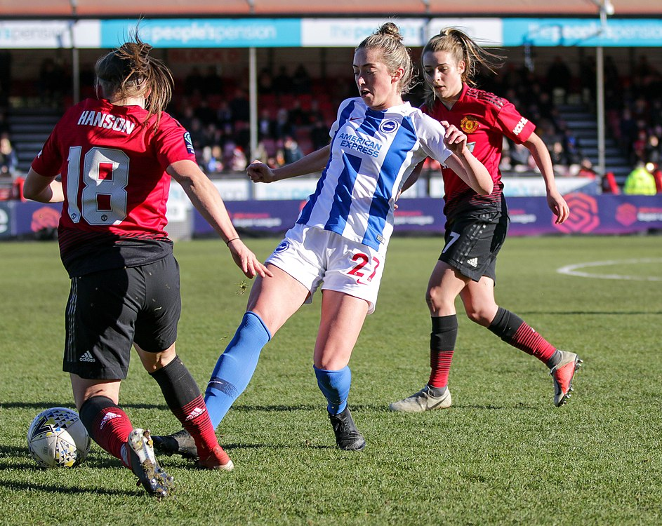 BHA Women 0 Man Utd Women 2 WFAC 4th rd 03 02 2019-515 (46072289595).jpg