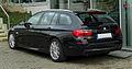 BMW 520d Touring M-Sportpaket (F11) – Heckansicht, 31. März 2011, Mettmann.jpg
