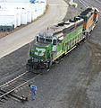 BNSF 2819 (BN paint) in Spokane Washington 2007.jpg