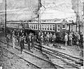 BRB&L EMU train after trial run, October 1928.jpg