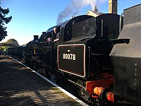 Locomotives formerly resident on the Watercress Line - The