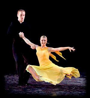 BYU Ballroom Dance Company - BYU dancers